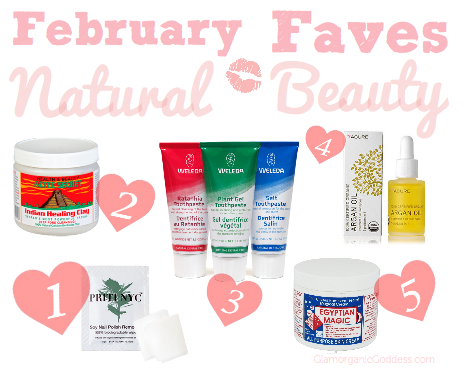 February Natural Beauty Favorites Unite For Her